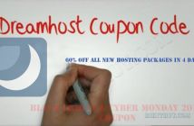 Dreamhost Black Friday & Cyber Monday Coupon