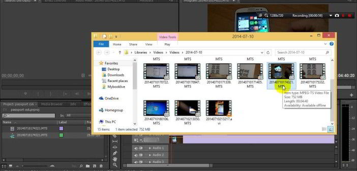 """How to fix """"MTS files not importing in Premiere CC 2015"""""""
